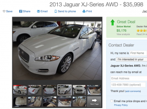 High Net Worth Auto Insurance 2013 Jaguar